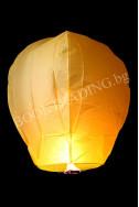 Летящ фенер премиум - жълт