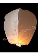 Летящ фенер премиум - бял