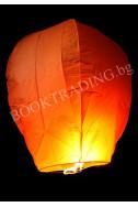 Летящ фенер премиум - оранжев