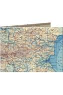 Портмоне Slim Wallet 14 BG Map
