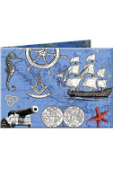 Портмоне Slim Wallet 17 Nautica