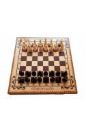 Комплект шах и табла бук - пирограф 34/34
