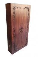 Кутия за табла с дърворезба - Традиция 48/48
