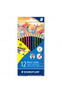 Цветни моливи Staedtler Noris Colour - 12 цв.