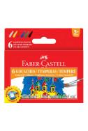 Темперни бои Faber Castle - 6 цвята