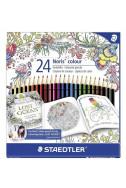 Цветни моливи Staedler Johanna Basford NC - 24 цв.