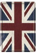 Метална картичка UK Flag