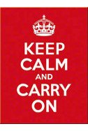 Магнит Keep Calm and Carry on