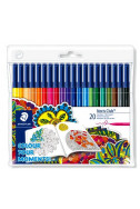 Флумастри Staedtler NC 326 - Adult Colouring - 20 цв.
