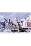Папка с копче A4 - Paris