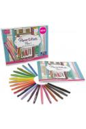 Комплект за рисуване -  флумастри 20 цвята и книжка