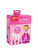 Креативен комплект за изработване на Кукла ЕВА Принцеса с 3 визии
