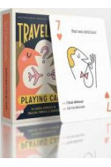 Traveler's Playing Cards: 54 Useful Phrases in English, French and Spanish