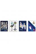 Тетрадка Real Madrid A5, 60 л. - широки редове