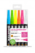 Molotow GRAFX UV-Fluorescent Basic Set 1