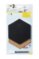 Подложки Hexagon Cork & Chalkboards