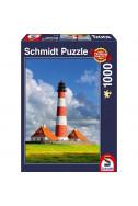 Пъзел Westerhever Lighthouse - 1000