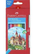 Цветни моливи Faber-Castell, 12 цвята