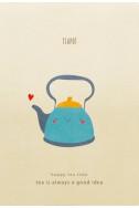 Скицник Happy Tea Time - Teapot