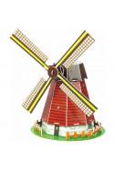 Мини пъзел 3D – Вятърна мелница