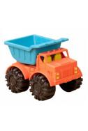Мини разноцветно камионче оранжево