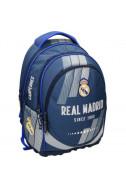 Ергономична раница с две отделения Real Madrid 1 Blue