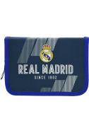 Ученически несесер с един цип FC Real Madrid 2