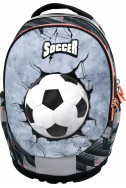 Ергономична раница с две отделения Street Soccer