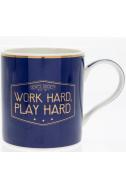 Чаша Work hard Play hard