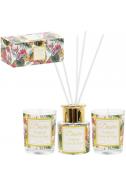 Комплект свещи и дифузер Tropical citrus&sage