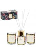 Комплект свещи и дифузер Wild fig&Cassis Noir
