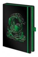 Тефтер Harry Potter - Slytherin