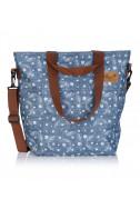 Дамска чанта за рамо Hash - Denim Wings