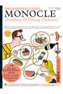 MONOCLE Spring/Summer 2019: Drinking & Dining Directory