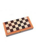 Дървена табла и шах Manopoulos - голям размер
