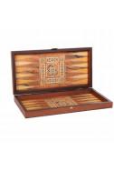 Дървена табла и шах Manopoulos: Ориенталски мотиви - малък размер