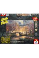 Светещ пъзел в тъмното Central Park - 1000