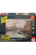 Светещ пъзел в тъмното Venice - 1000