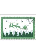 Писмо до Дядо Коледа, зелен