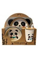 Еко комплект за хранене - Панда