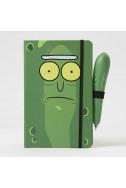 Дневник с химикал Rick and Morty: Pickle Rick