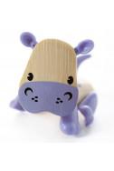 Мини животинка от бамбук – Хипопотам