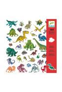 Детски стикери Djeco - Динозаври