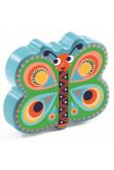 Дървен маракас Djeco - Animambo Пеперуда