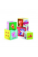 Кубчета за игра Djeco - Коте