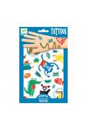 Татуировки Djeco - Забавни животни