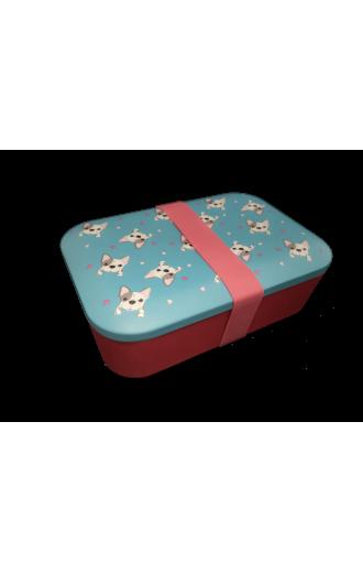 Кутия за храна от бамбук - Булдог