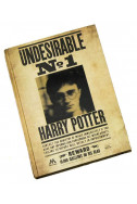Тефтер Harry Potter - Undesirable No 1 3D