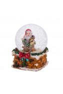Преспапие - Дядо Коледа (червена панделка)