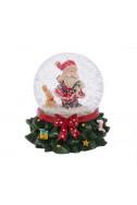 Преспапие - Дядо Коледа и зайче